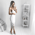 KHALEESI Dress - White - Drop Dead Dollbaby