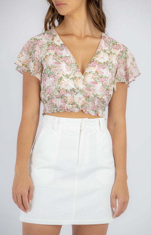 MAGNOLIA Crop - Blush - Drop Dead Dollbaby