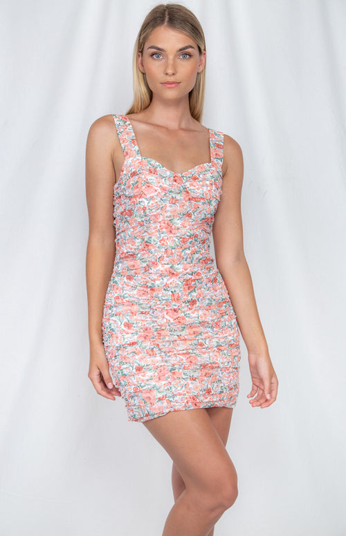 BILLIE Dress - Blush - Drop Dead Dollbaby