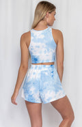 MIMI Tie Dye Set - Blue - Drop Dead Dollbaby