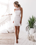 VICKY Dress (White) - Drop Dead Dollbaby