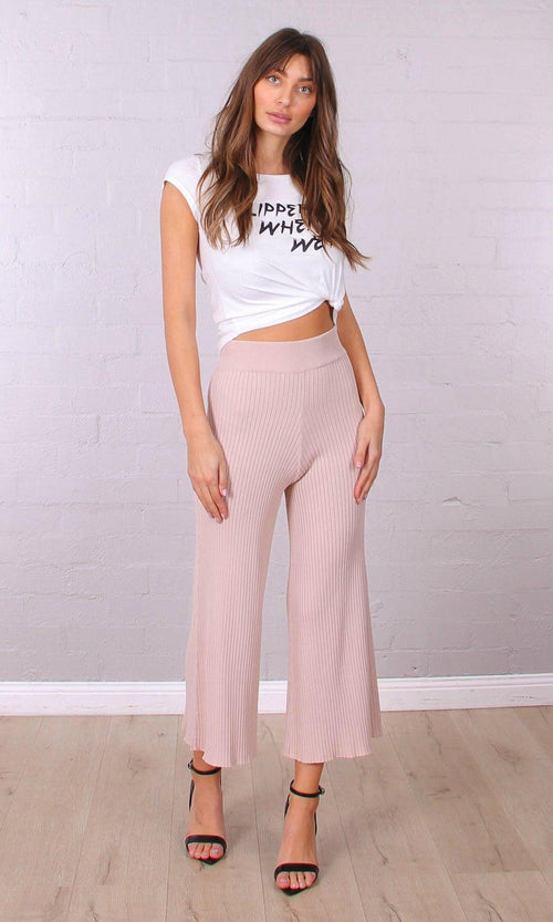 JAYDEN Pants (Beige) - Drop Dead Dollbaby