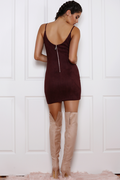 BROMLEY Dress (Sangria) - Drop Dead Dollbaby
