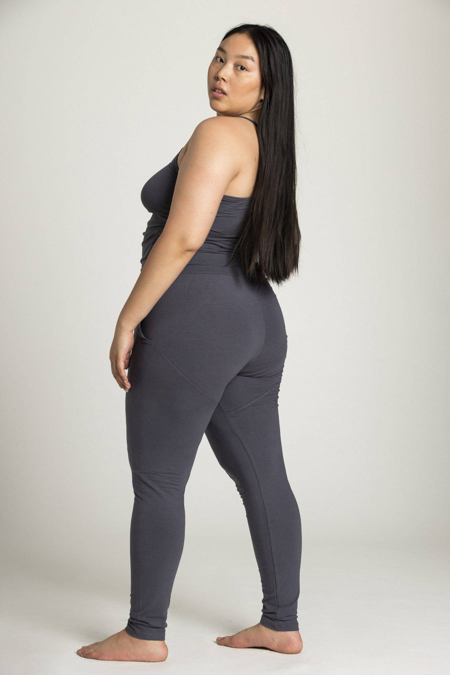 Long Yoga Jumpsuit - womens clothing - Ripple Yoga Wear