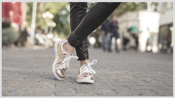 Helping Hand: Trendy Trainers