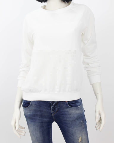 ELINA Top in White