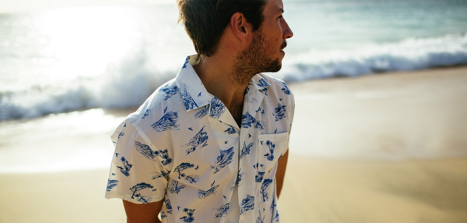 40f3ea43c76f00 Inspired by the paradisiac volcanic archipelago of Hawaii, the Aloha shirt  – commonly referred to as the Hawaiian shirt – was first introduced to the  ...