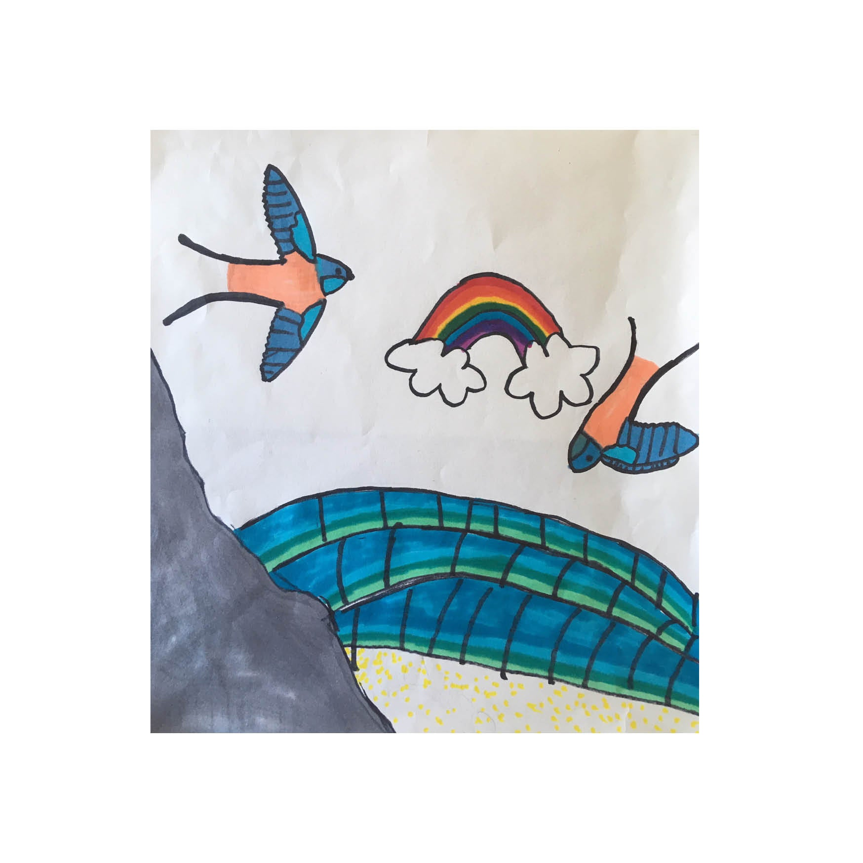 Molly Kerr aged 9  - #FinisterreForNHS t-shirt design competition [Kids category]