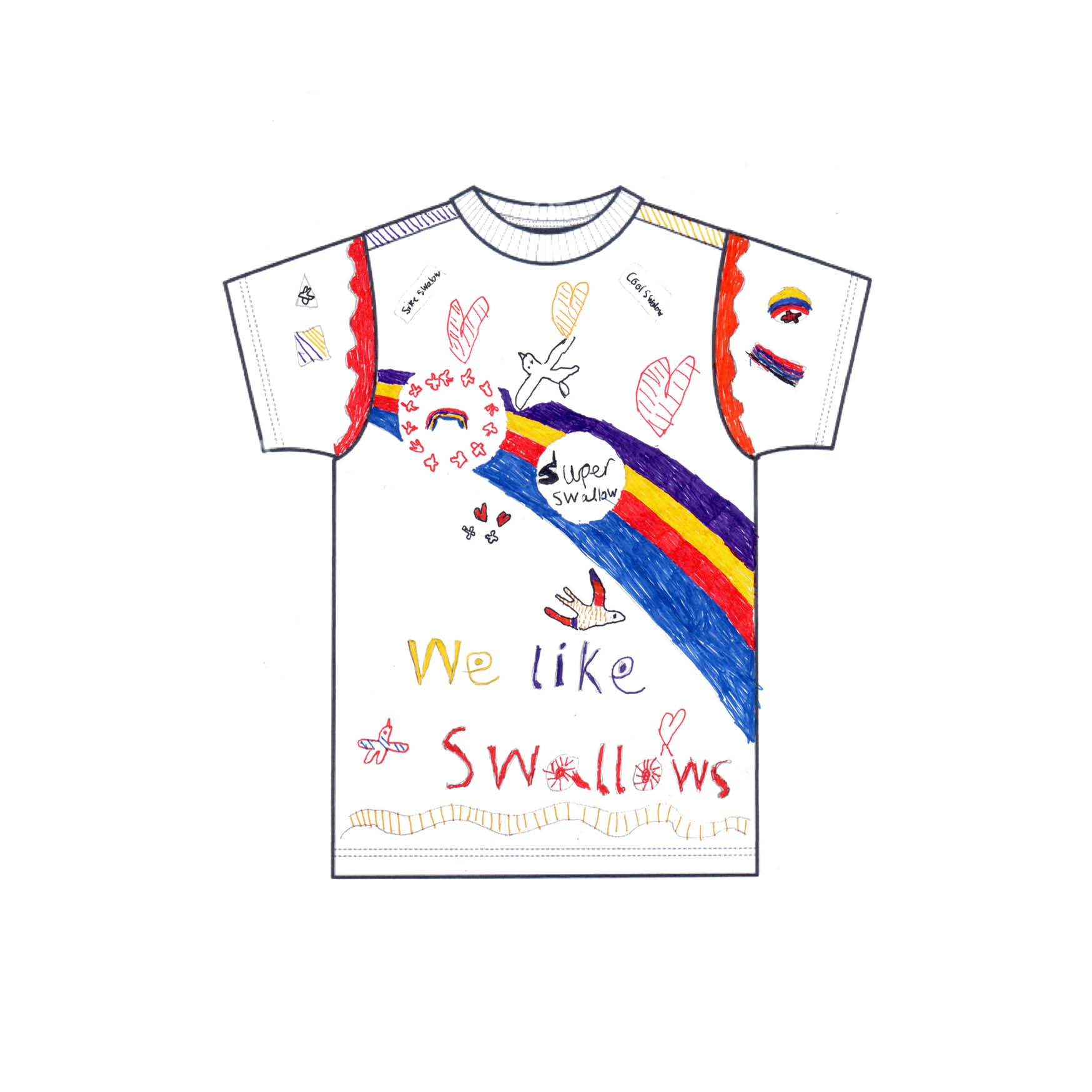 'K-dog' - Winner of FinisterreForNHS t-shirt design competition [Kids category]