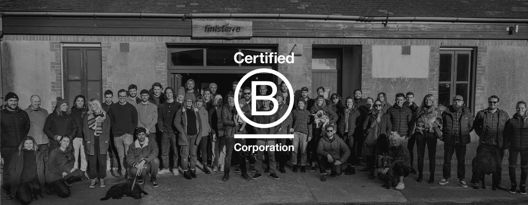 B Corp Certified - The Finisterre Team at Wheal Kitty Head Office