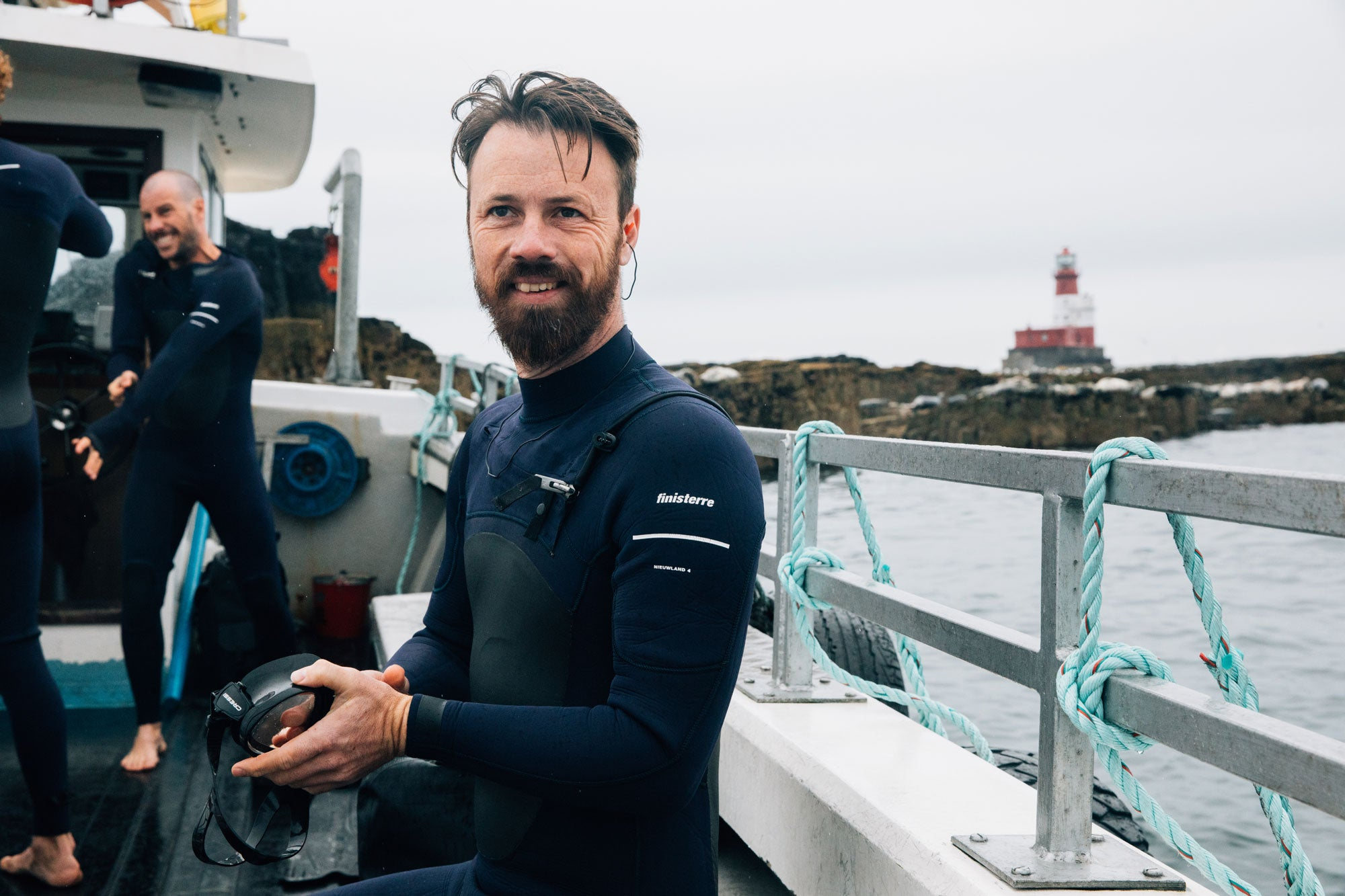 Chris-McClean-changing-into-his-finisterre-wetsuit