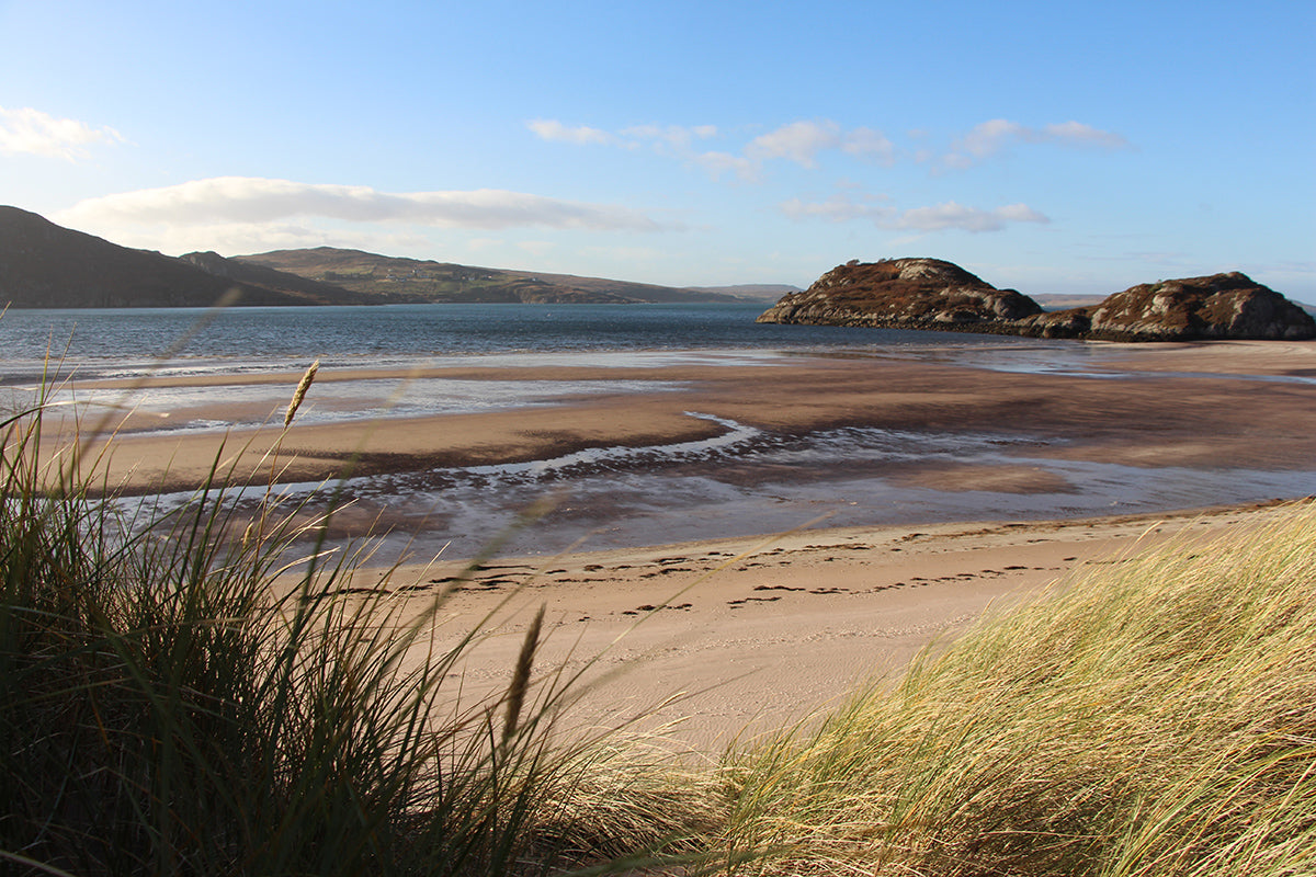 Gruinard Bay, Wester Ross: Autumn is a wonderful time to enjoy our seas.