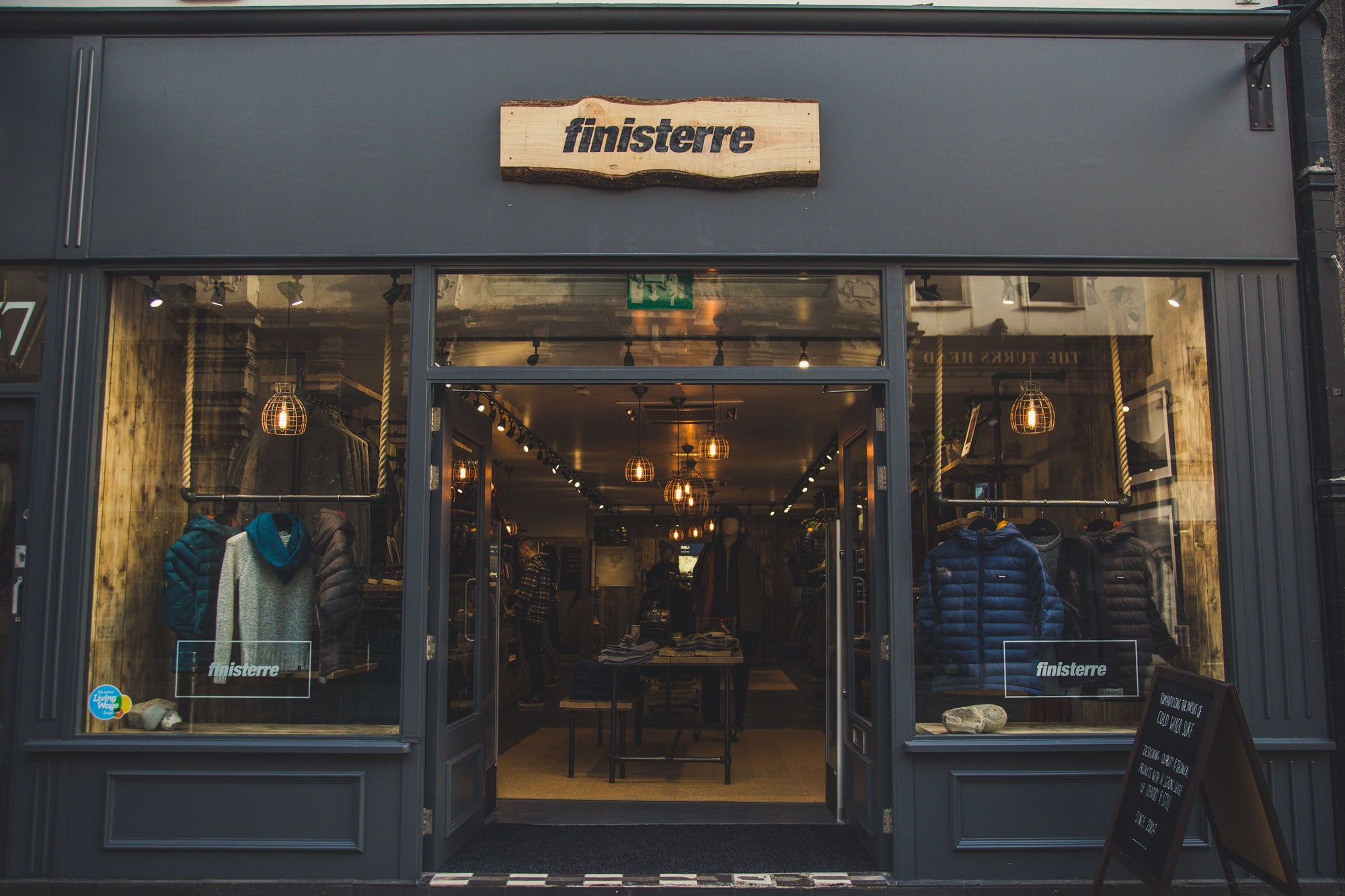 Finisterre Exeter Store