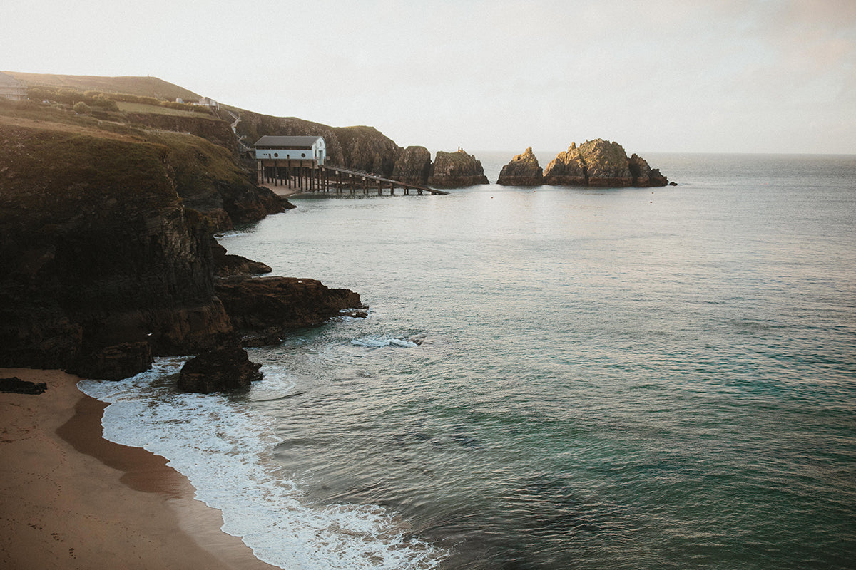 The view of Mother Ivy's Bay, near Trevose Head