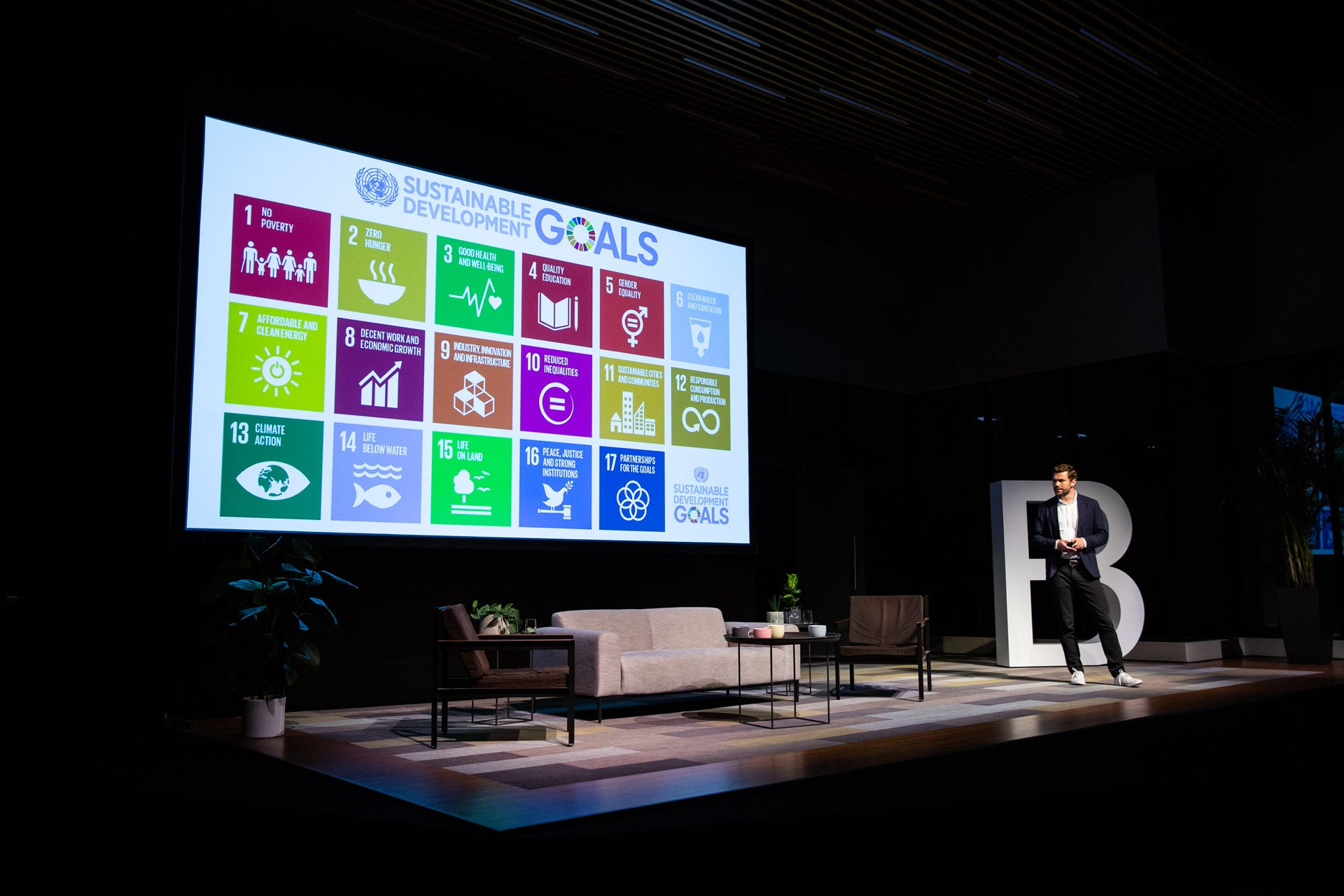 Sustainability goals at the London B Inspired event