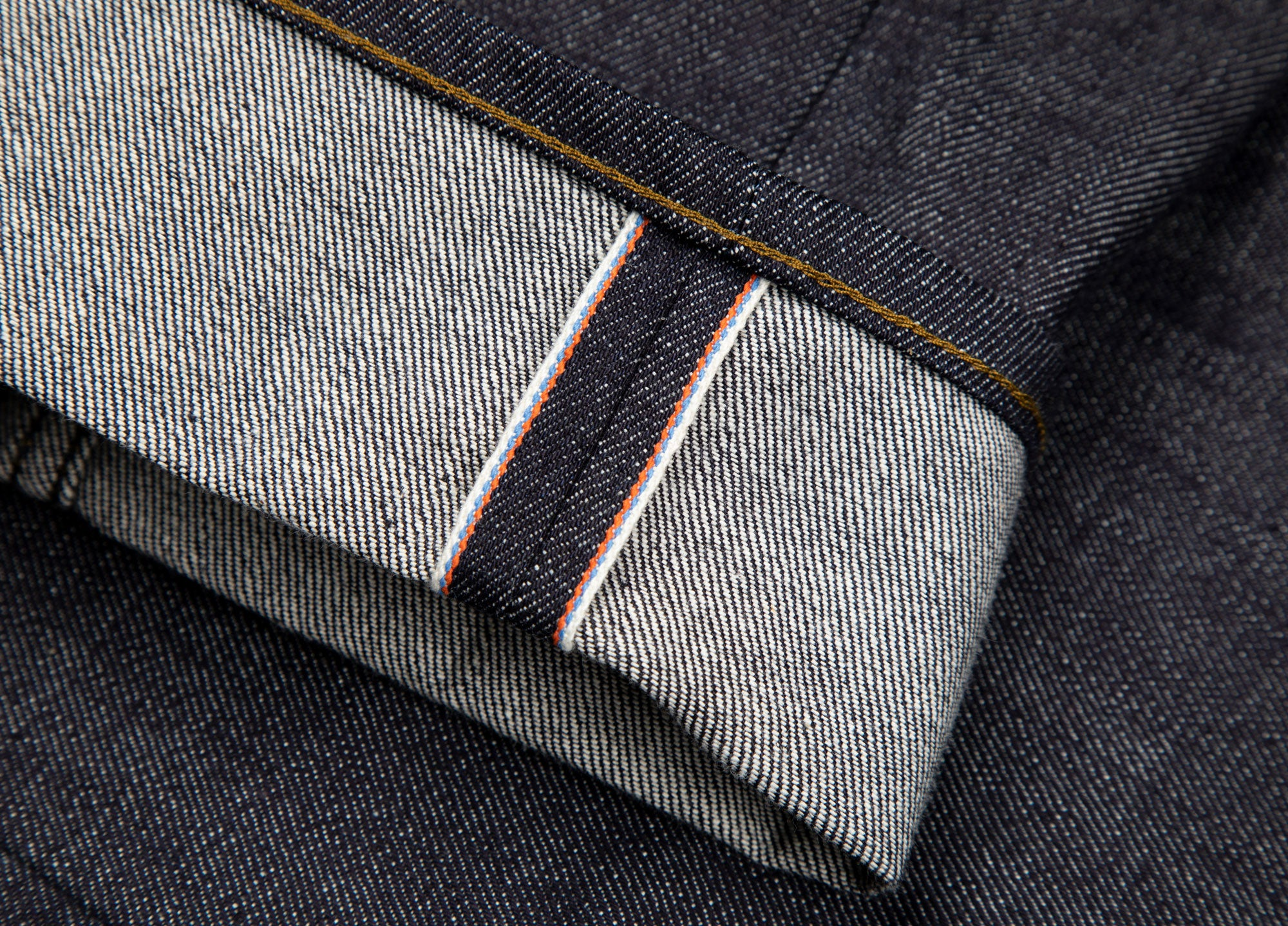 Finisterre-Selvedge-Denim-with-signature-brand-colours-on-selvedge-stripe