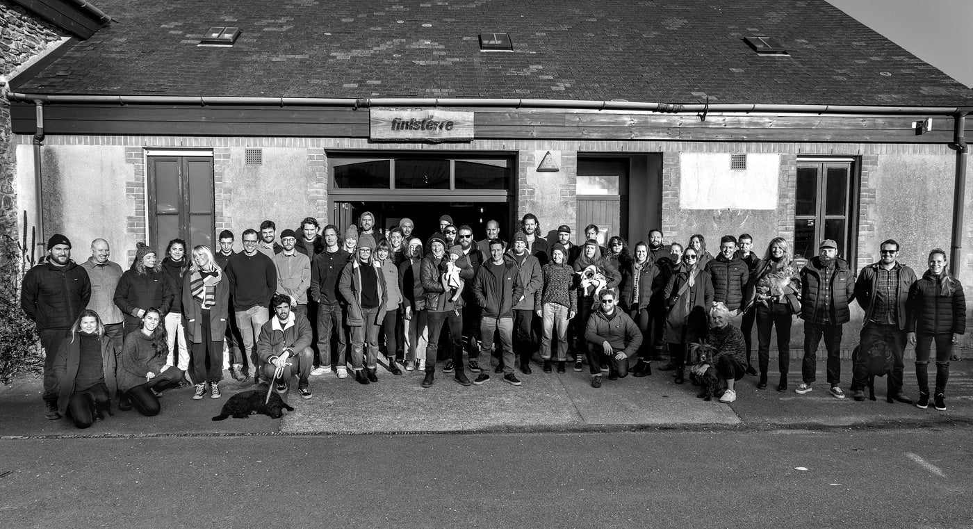 The Finisterre team at Wheal Kitty HQ