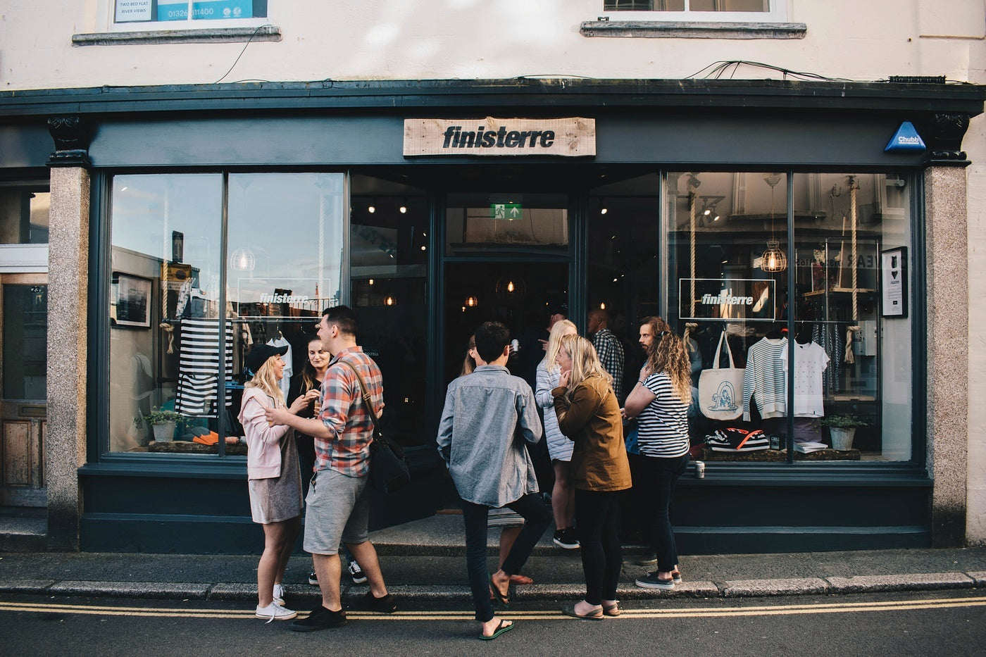The Finisterre store in Falmouth