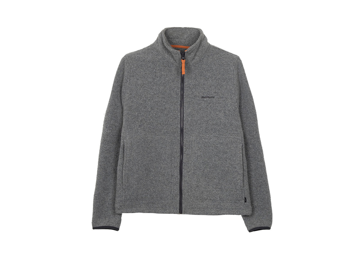 Budock Wool Zip Through Fleece