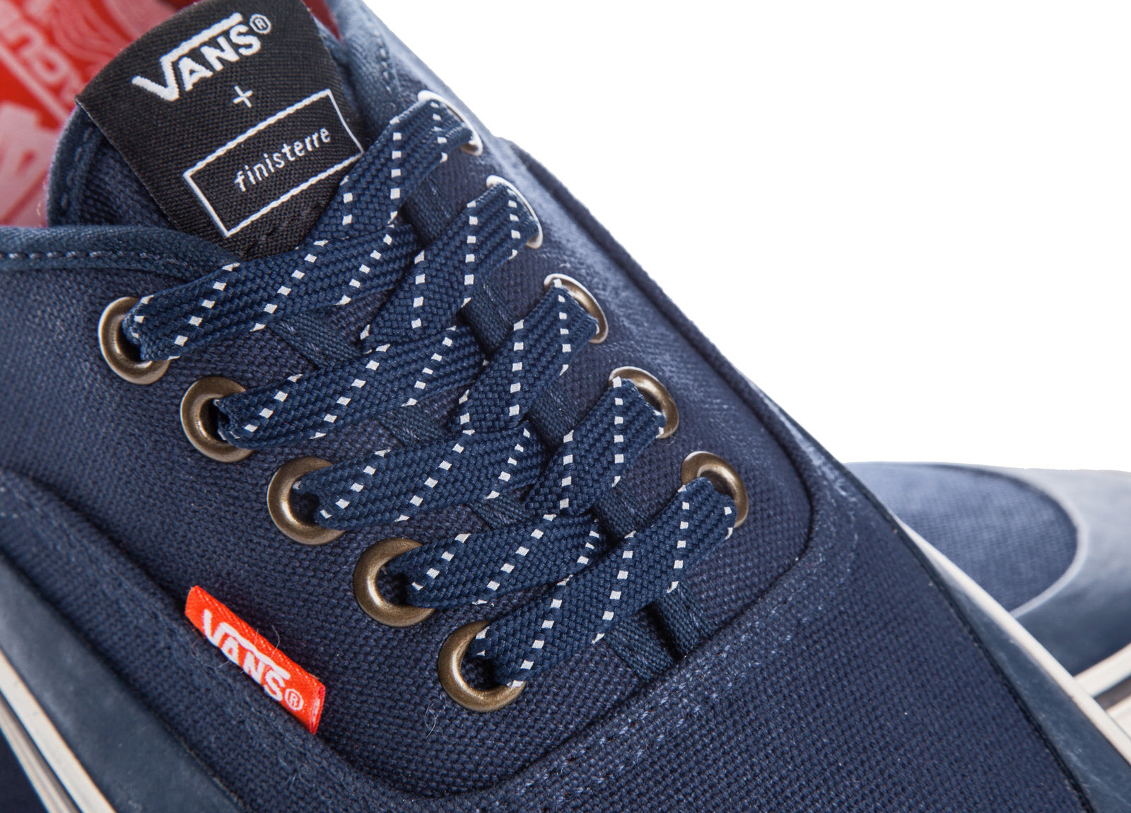 Finisterre + Vans Authentic MTE Navy Canvas Trainers  fa0ead430