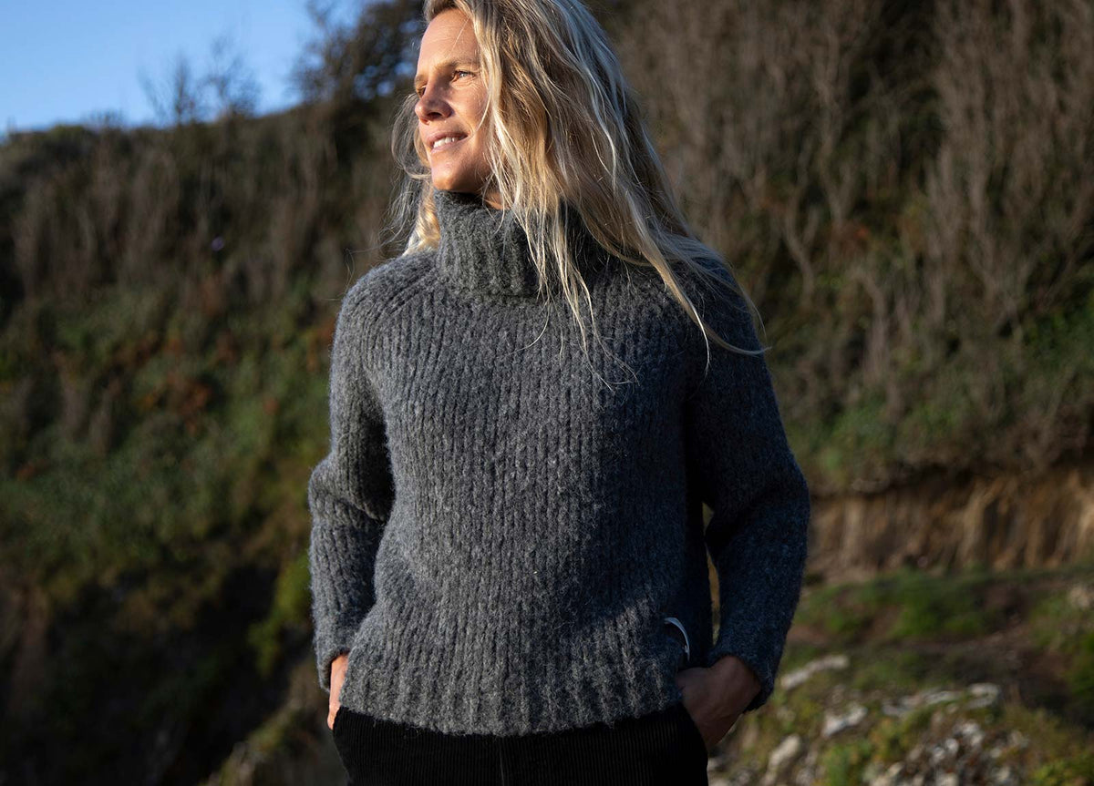Misti Roll Neck Wool Jumper