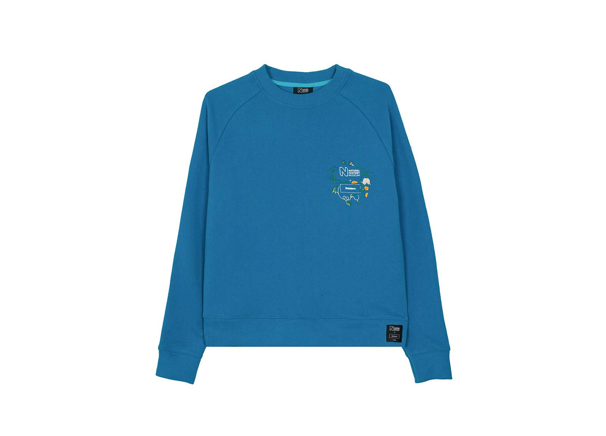 Embroidered Beanley Sweatshirt | Natural History Museum