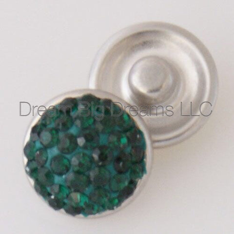 FRANCES Glitz Crystal Mini 12mm Snap Button