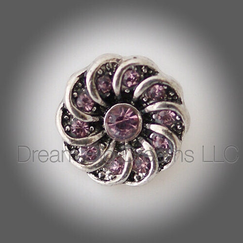 DIAMOND Flower Mini 12mm Snap Button