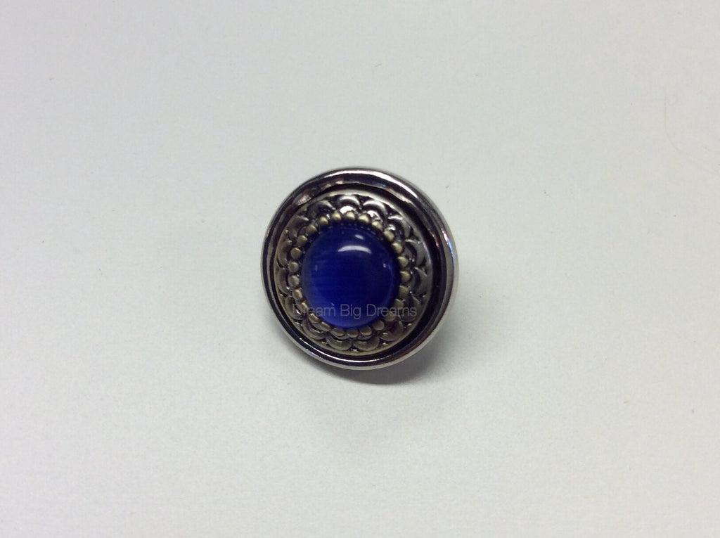 TRINITY Blue Mini 12mm Snap Button