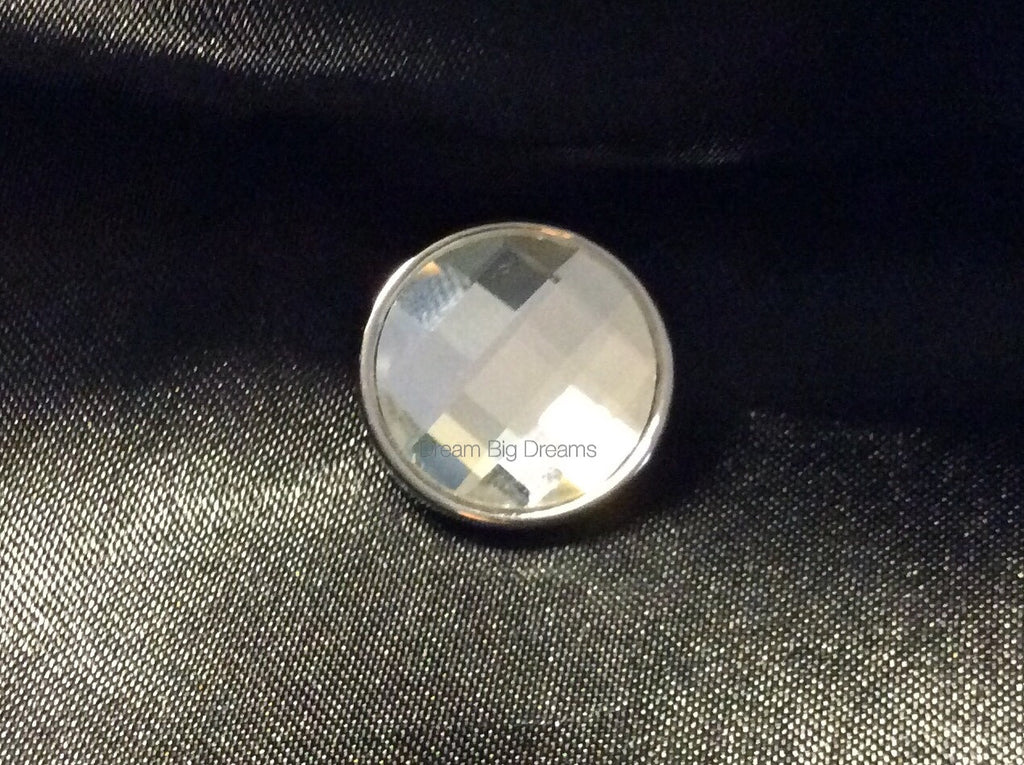 Crystal Diamond CHARLOTTE 18-24 mm Snap Button