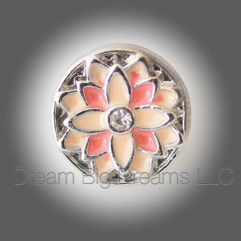 JEMMA  Flower Mini 12mm Snap Button