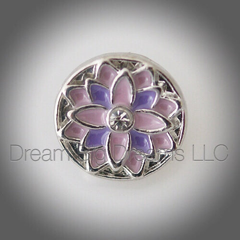 FAITH Flower Mini 12mm Snap Button
