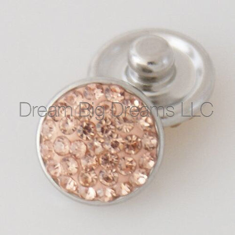 GISELE Glitz Crystal Mini 12mm Snap Button