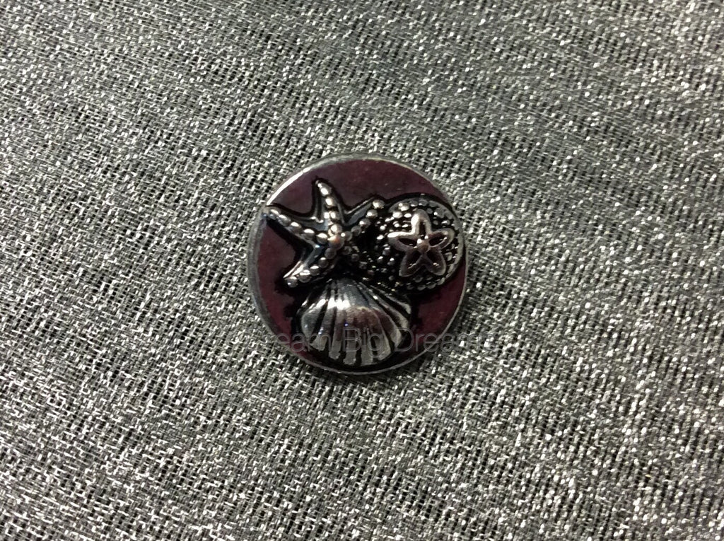 HELENA Sea Shells Mini 12mm Snap Button