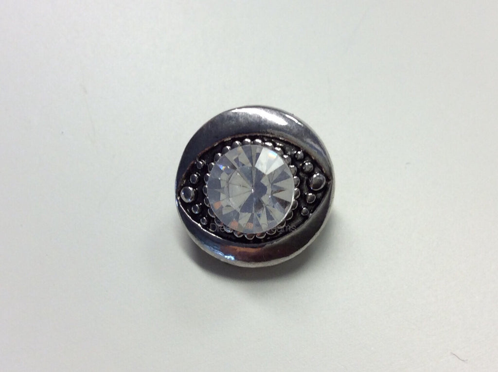 LIBERTY Crystal Gems Mini 12mm Snap Button