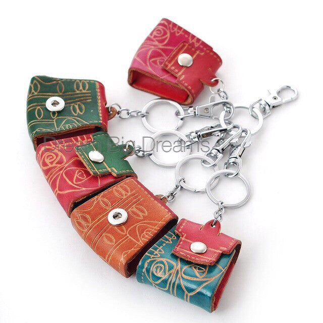 Purse Key Chain fits snaps 12mm