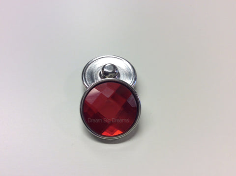 Crystal Ruby SANDRA 18-24 mm Snap Button