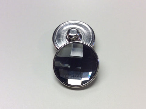 Crystal Smoked Gray JENA 18-24 mm Snap Button