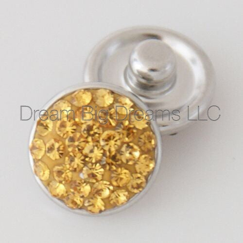 DIANA Glitz Crystal Mini 12mm Snap Button
