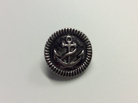 FARRAH  Anchor Mini 12mm Snap Button