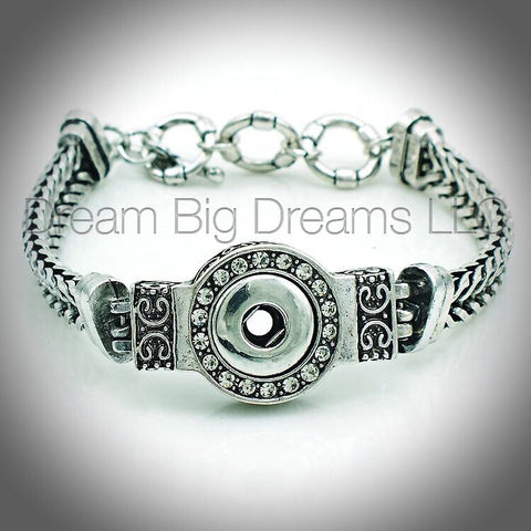 CELESTE12mm Single Snap Bracelet
