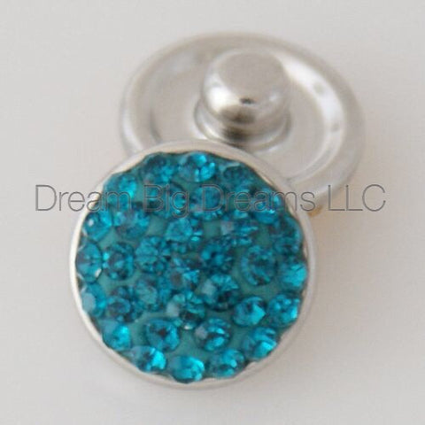 ELENA Glitz Crystal Mini 12mm Snap Button