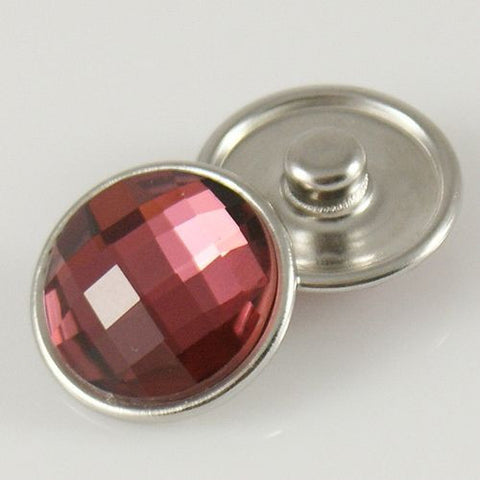 Crystal Rose LINDY 18- 24 mm Snap Button