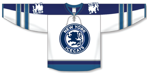 Icecats White Jersey Plus Hockey Socks