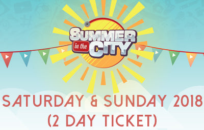 Saturday + Sunday (2 day) Entry SITC 2018