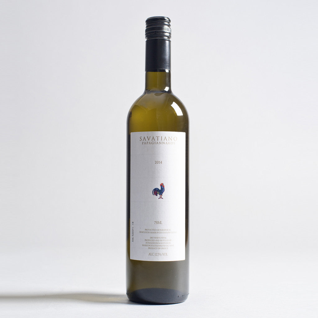 Savatiano, Domaine Papagiannakos, Attika, Greece, 2019