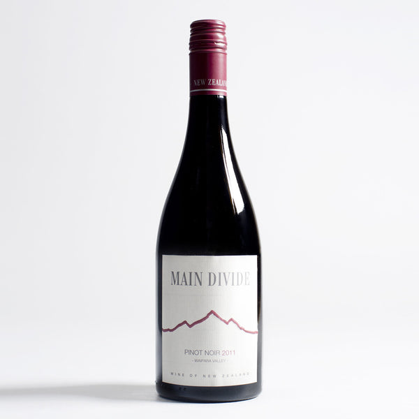 Pinot Noir, Main Divide, Wairapa, New Zealand, 2011