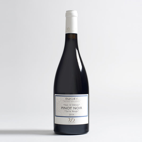 Bugey 'Sous le Chateau' Pinot Noir Terre Rouge, Burgundy, France 2014