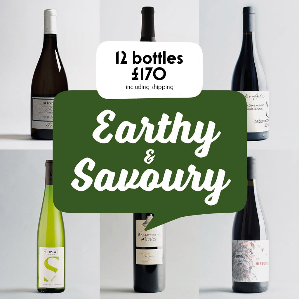 Case by Case: Earthy and Savoury! 12 bottle selection #2