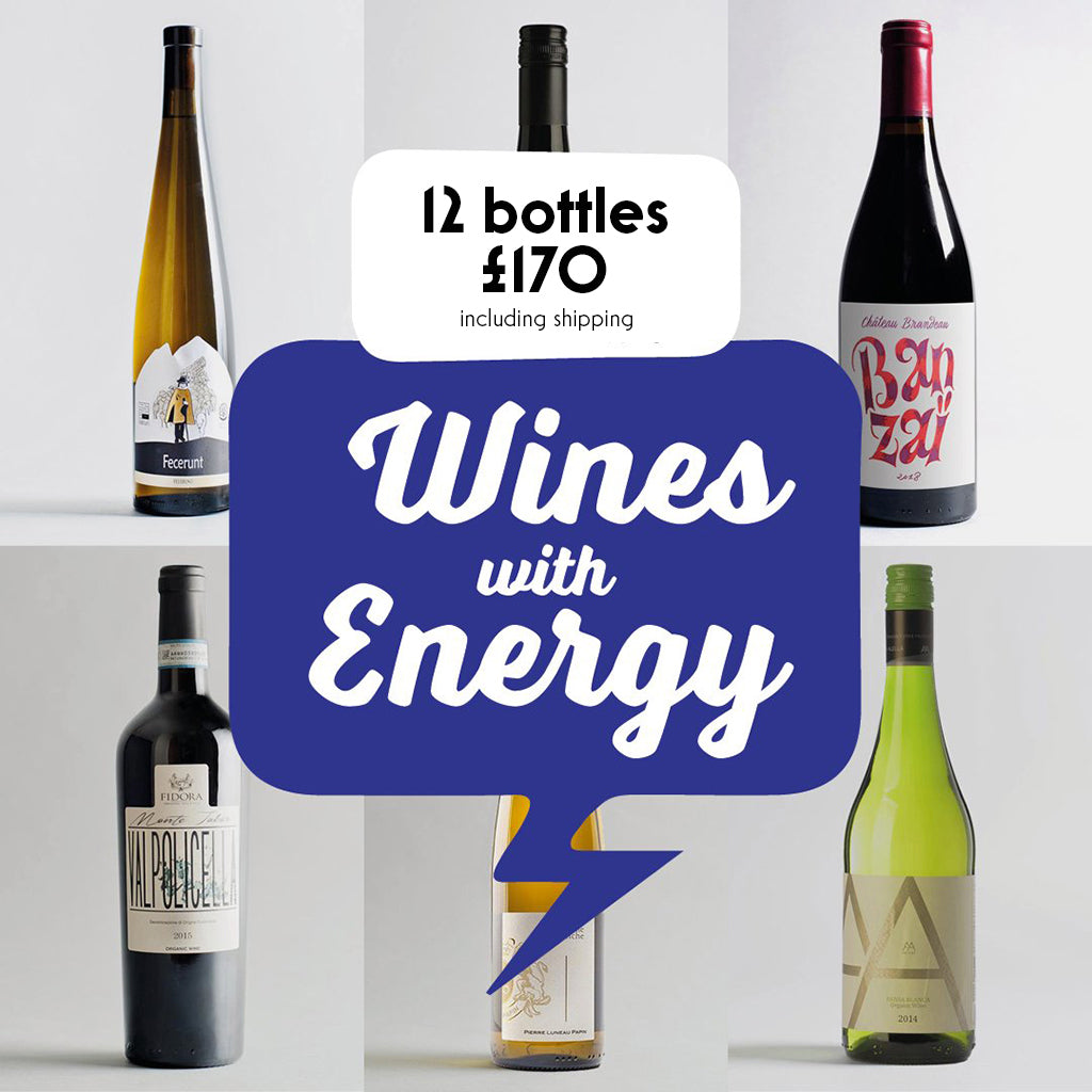 Case by Case: Wines with Energy! 12 bottle selection #2